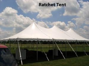 ratchet tent